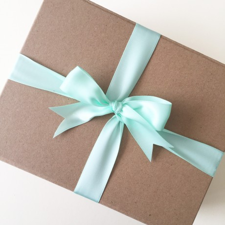 Beautifully Wrapped Gift Box